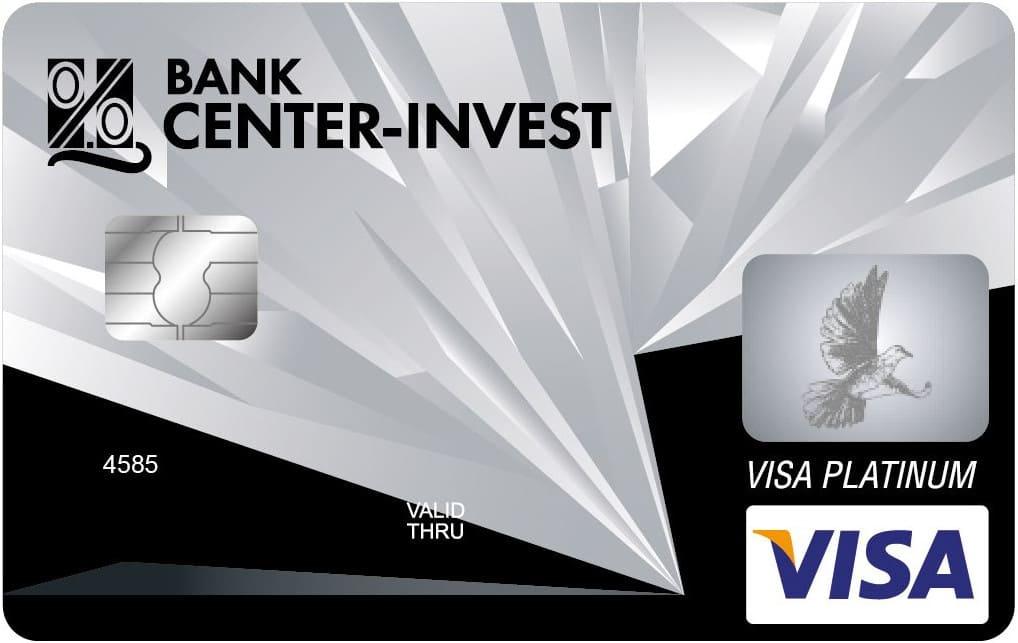 Банковская карта Виза Платинум кредитная
