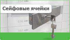 Аренда сейфовых ячеек в банке